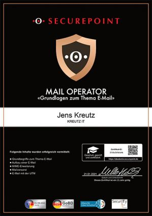 MAIL OPERATOR (01/2021)