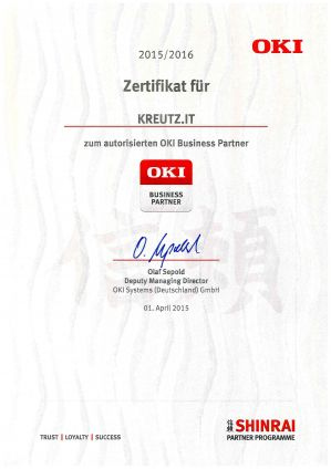 OKI BUSINESS PARTNER (04/2015)