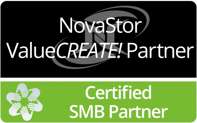 NovaStor ValueCREATE! Partner Certified SMB Partner (01/2015)